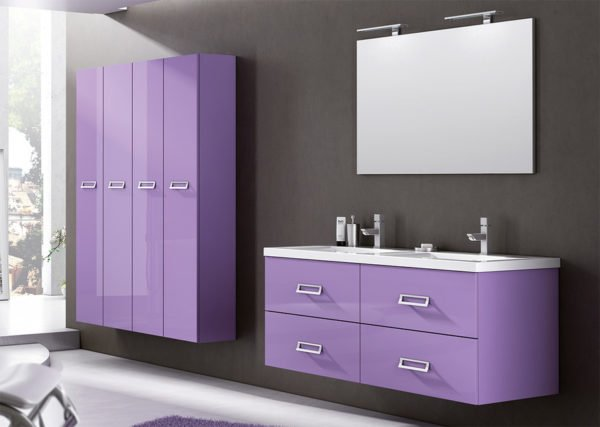 Color glicine per le pareti di casa come abbinarlo allarredamento  Designandmore arredare casa