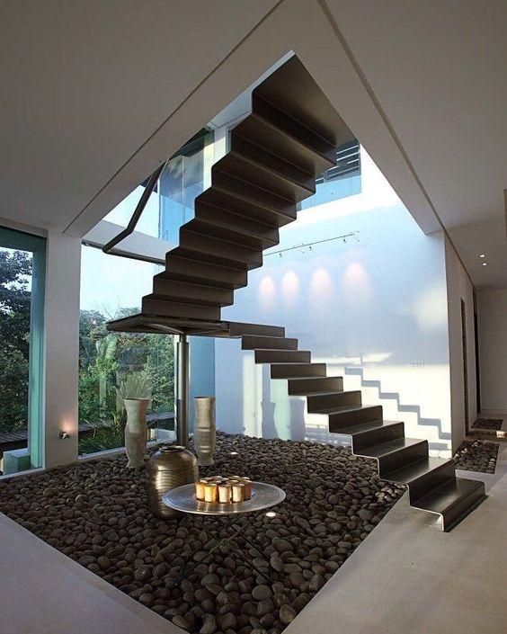Modern Staircase Interior Designers Bangalore