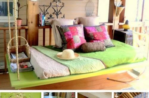DIY daybed - day - bed - dagbed - lounge - loungebed - Design - Designaresse