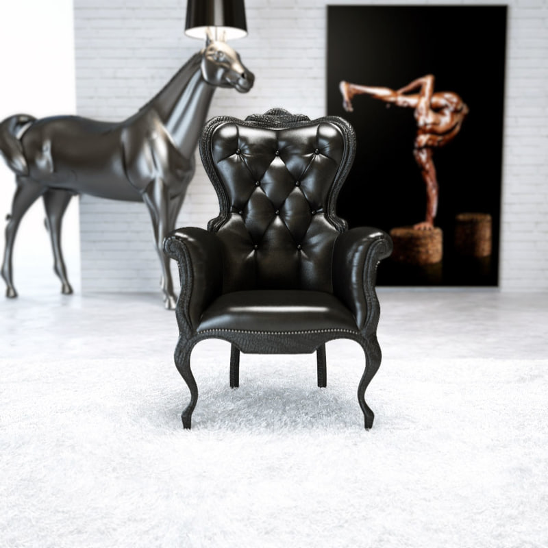 Smoke chair - Maarten Baas - Moooi - Designaresse