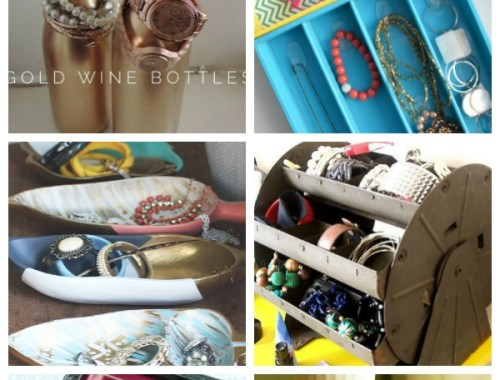 Ideas for storing your jewelry for any budget and any style! 15+ Jewelry Organization Ideas