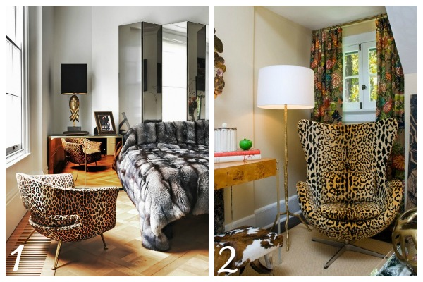 Decorating with Animal Prints: Mixing Animal Prints
