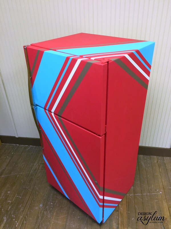 Ugly refrigerator got you down? Paint it with Velvet Finishes!