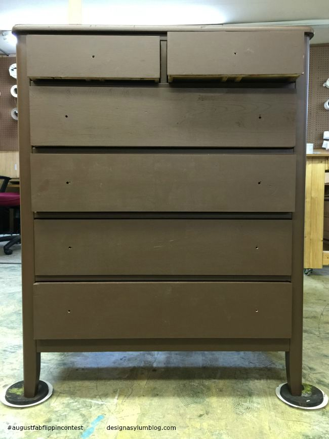 August Fab Furniture Flippin' contest featuring D. Lawless Hardware!  You won't believe how easy this project was!