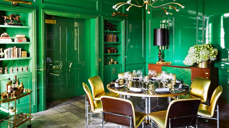 Paint it Green with Velvet Finishes December Colour of the Month, Baroque. Save 20% on Velvet Finishes Baroque at checkout using code DEC16COM