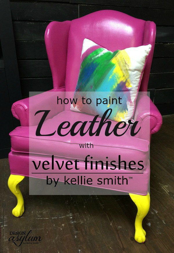 Have a chair that could use a new coat of paint? Take a look at these DIY Chair Projects and how to transform an old chair with Velvet Finishes paint!