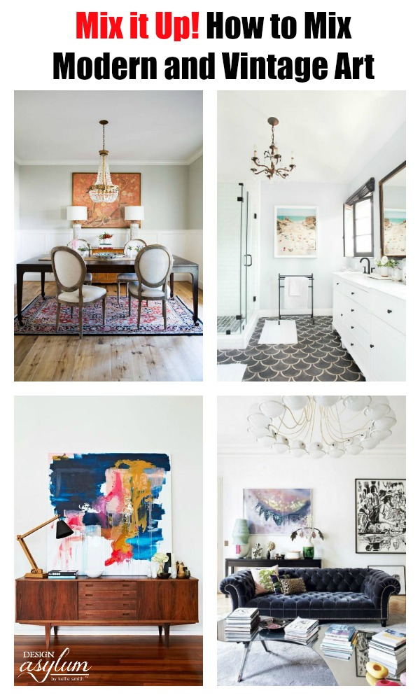 Decorating your space with modern and vintage art plus other accessories can create the perfect blended design. If you want to take your home renovations to a whole new level visit <a href=