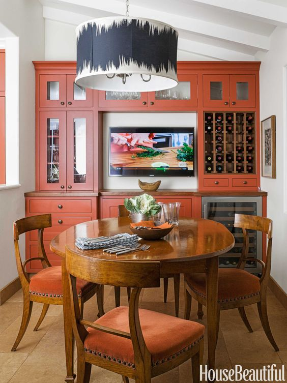The Velvet Finishes October Colour of the Month is Captivating - a rust orange shade. See rust orange furniture and design inspirations. OCT17COM = 20% off!