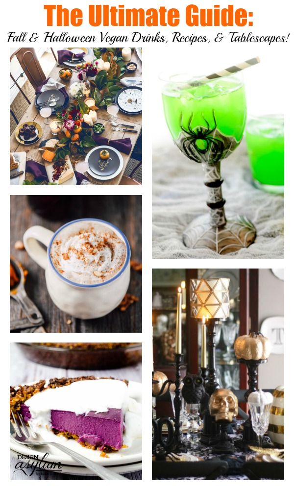 This is the ultimate guide to all of the Vegan friendly drinks, recipes, and tablescapes that will make any of your fall parties one to remember!