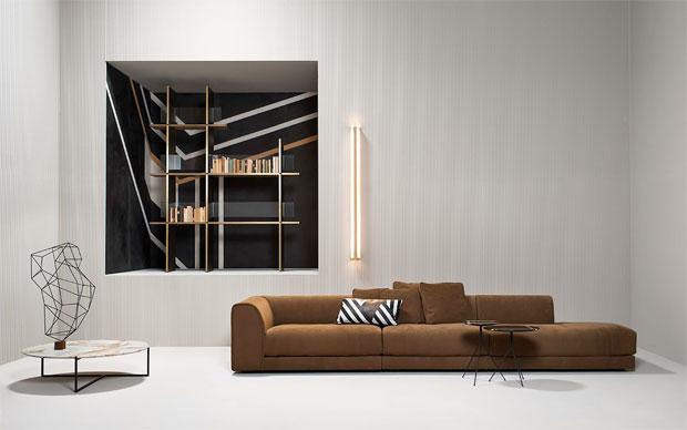 BAXTER  RAFAEL SOFA  design Roberto Lazzeroni
