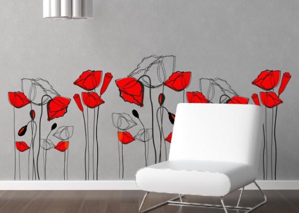 disegni per pareti  Arredare con stile