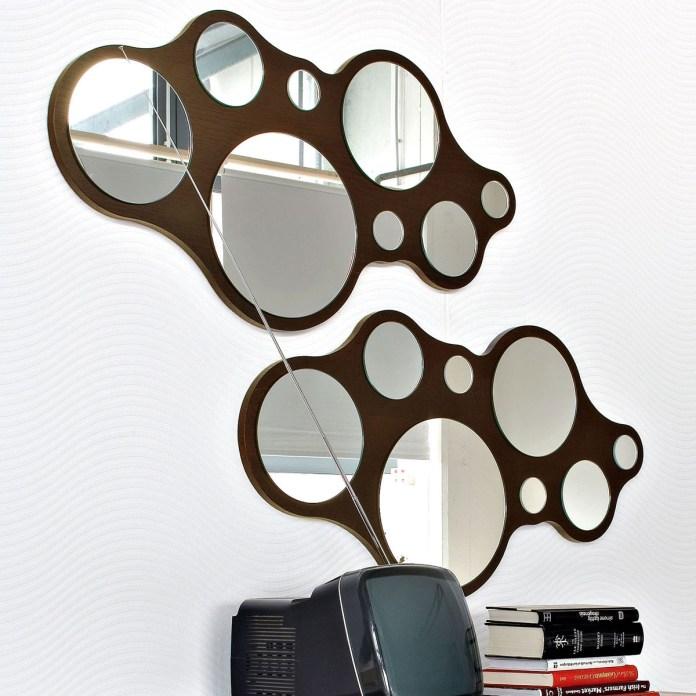 bubbles calligaris specchio design