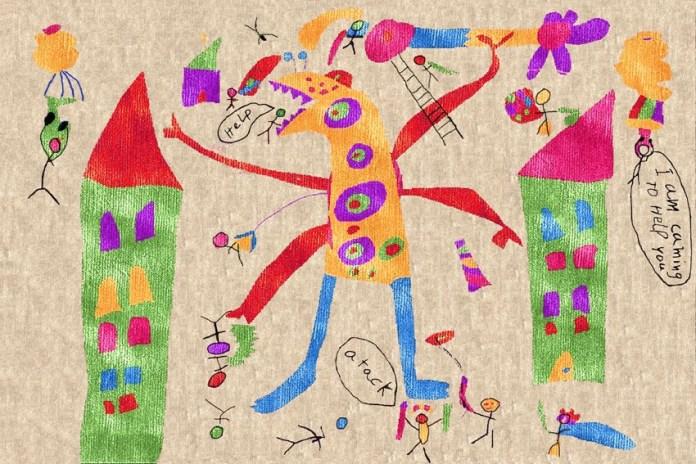 tappeto design junior illulian