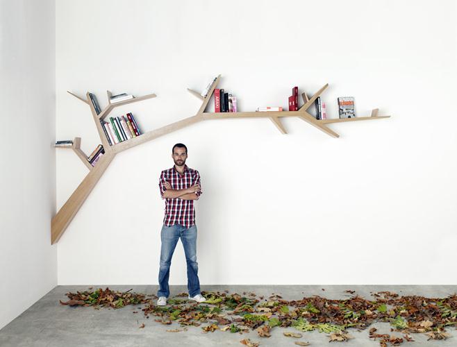 Bibliothèque tree branck libreria design 2