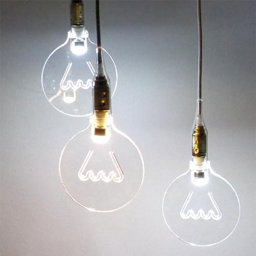 lampadina design led the light in the bubble