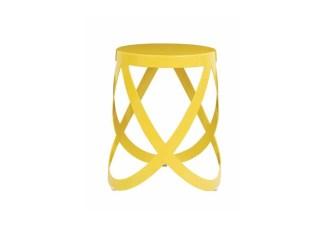 ribbon sgabello basso giallo cappellini