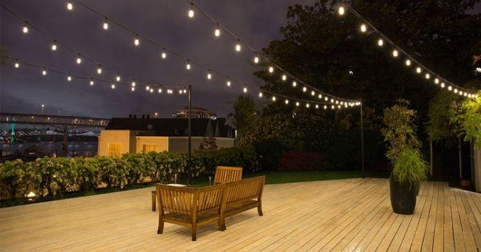 Illuminazione esterna per giardini