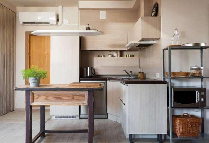 arredare una cucina piccola e stretta