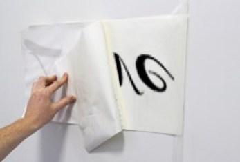 come applicare gli adesivi murali fase 4