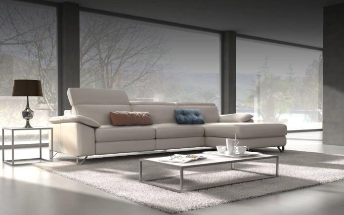 divano moderno angolare modello Odeon