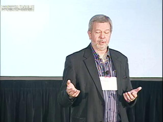 Richard Buchanan's Keynote on IxDA | Interaction '11