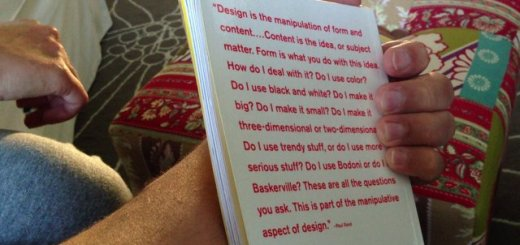 """Reading Paul Rand's """"Conversations with Students"""""""