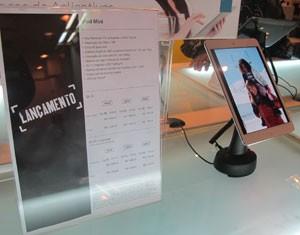 iPad Mini arrives quietly to Brazil (Photo: Gustavo Petró/G1)