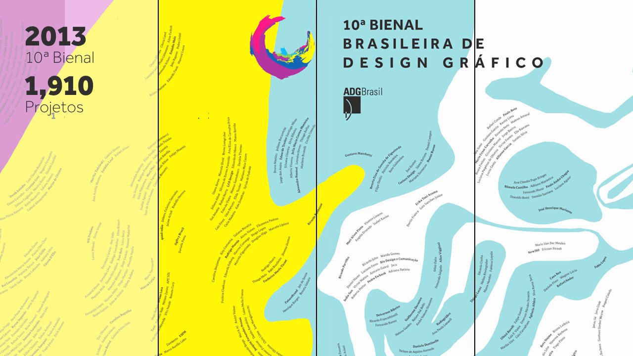 ADG's 10th Brazilian Graphic Design Biennial (opening video)