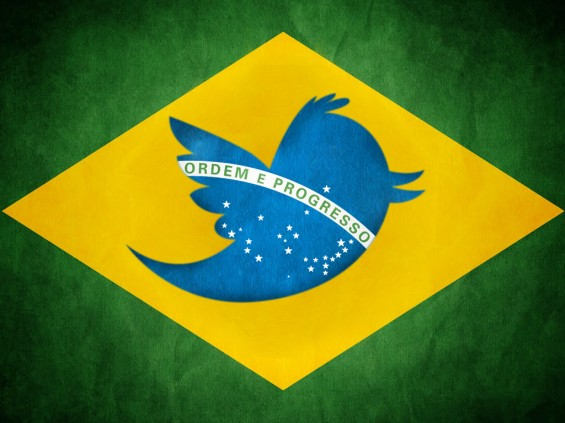 Brazil ranks 5th in the world ranking of active users on twitter
