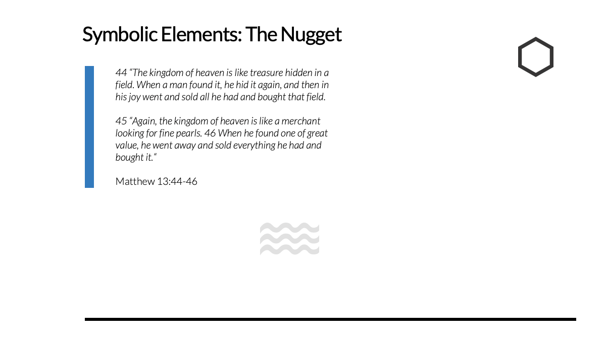 The Restored Leader: THE NUGGET