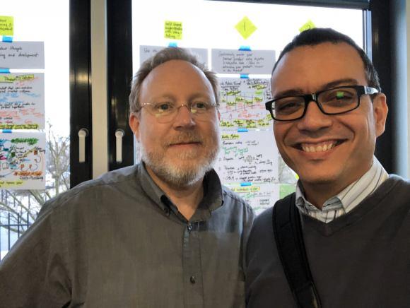 Jeff Patton and Itamar Medeiros in 2018