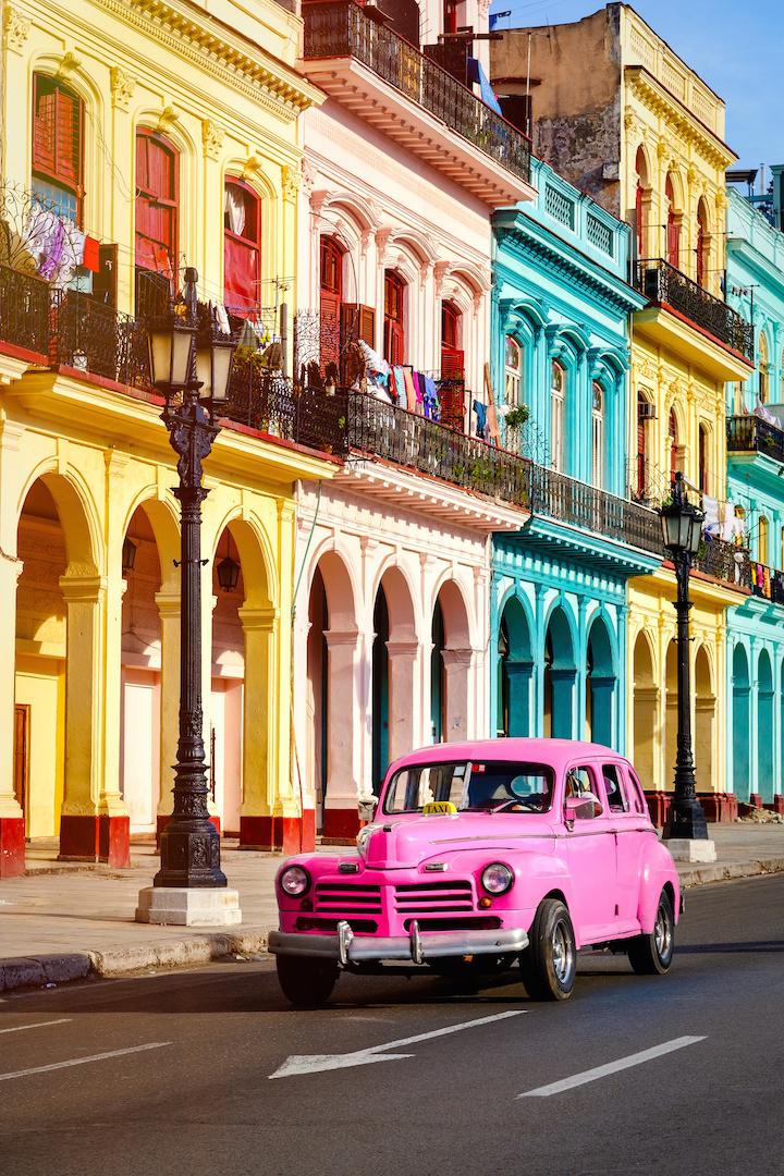 l'avana case colorate