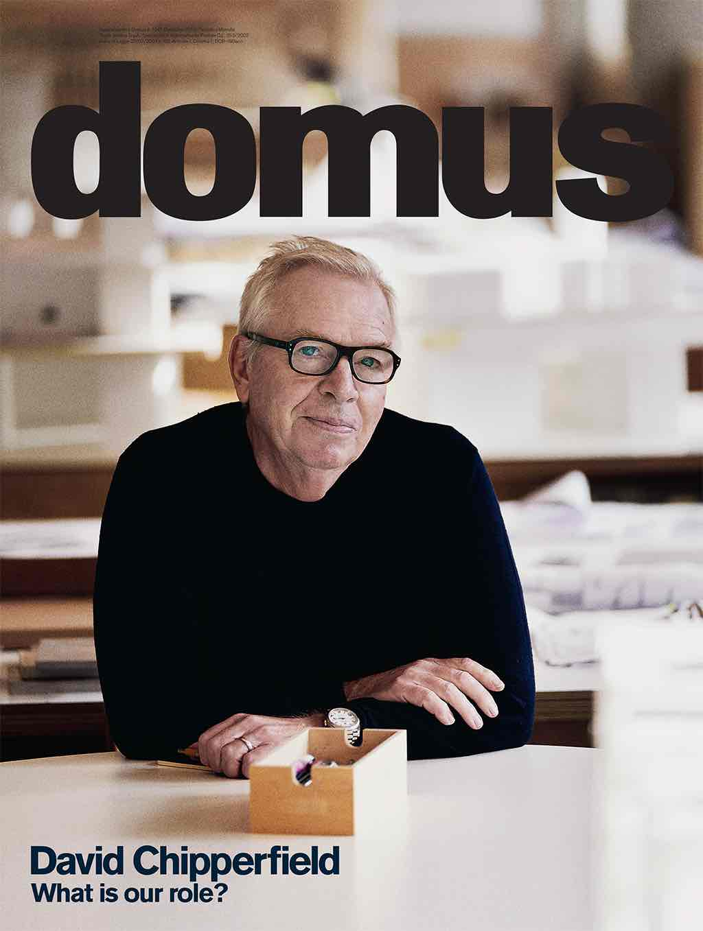 David Chipperfield Domus editor in chief
