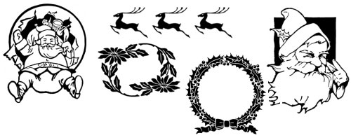 Over 50 Free Christmas Design Resources