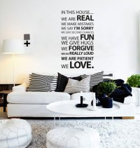 50+ Beautiful Designs Of Wall Stickers / Wall Art Decals ...