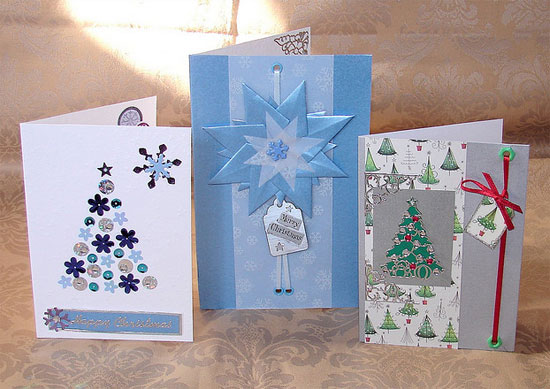 20 Beautiful Diy & Homemade Christmas Card Ideas For 2012