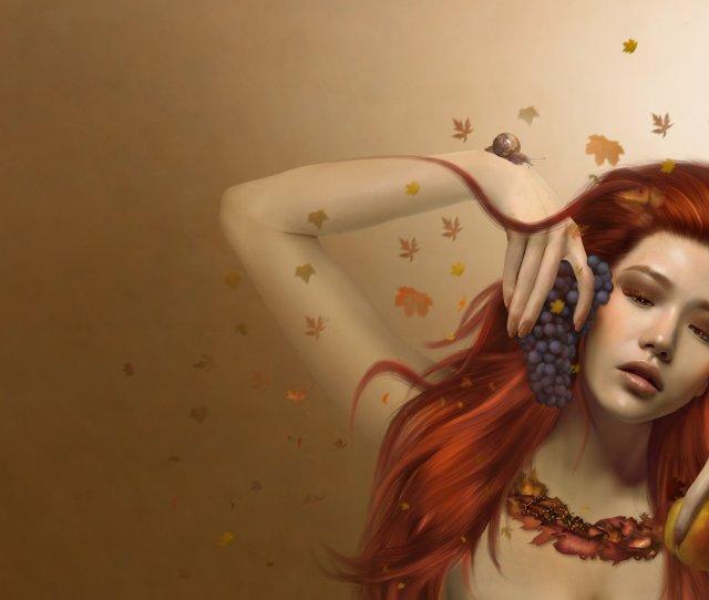 Beautiful Digital Art Girl Wallpaper Hd