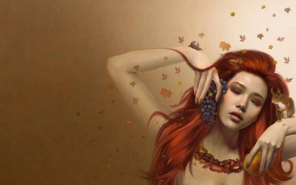 Beautiful Girl Digital Art