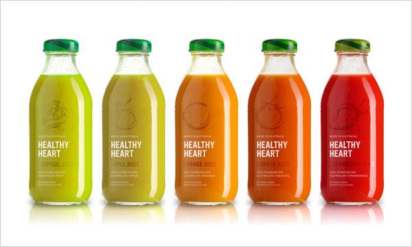 Healthy-Heart-Juice-packaging-design
