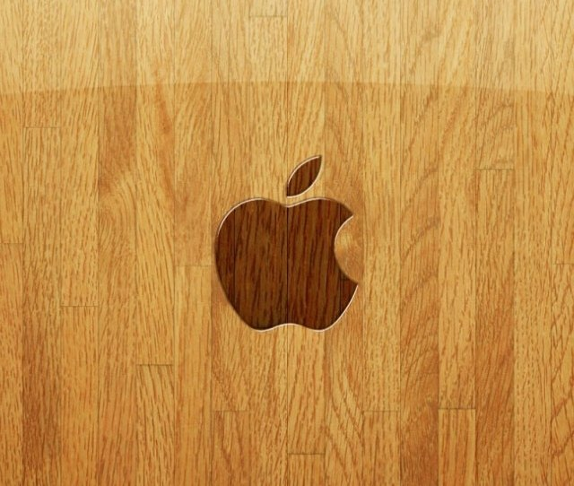 Apple Iphone  Wooden Background