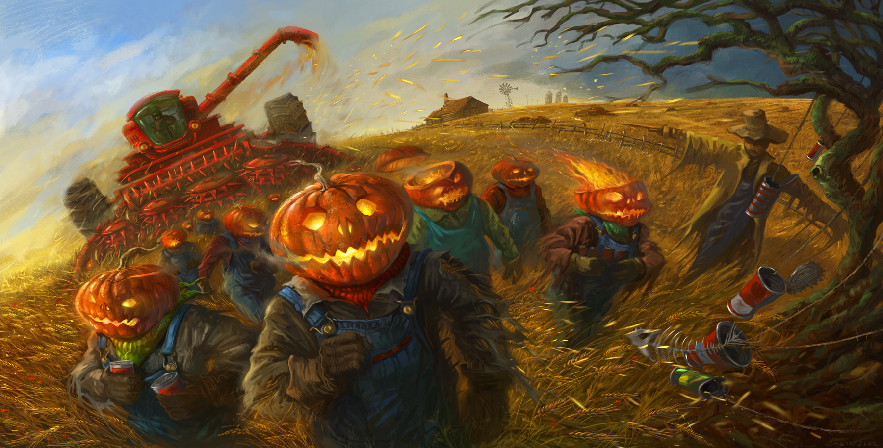 Fall Scarecrow Wallpaper Free Halloween 2013 Backgrounds Amp Wallpapers