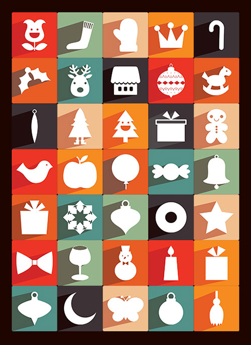 35 Best Free Christmas Icons Vectors PSD Amp Greeting
