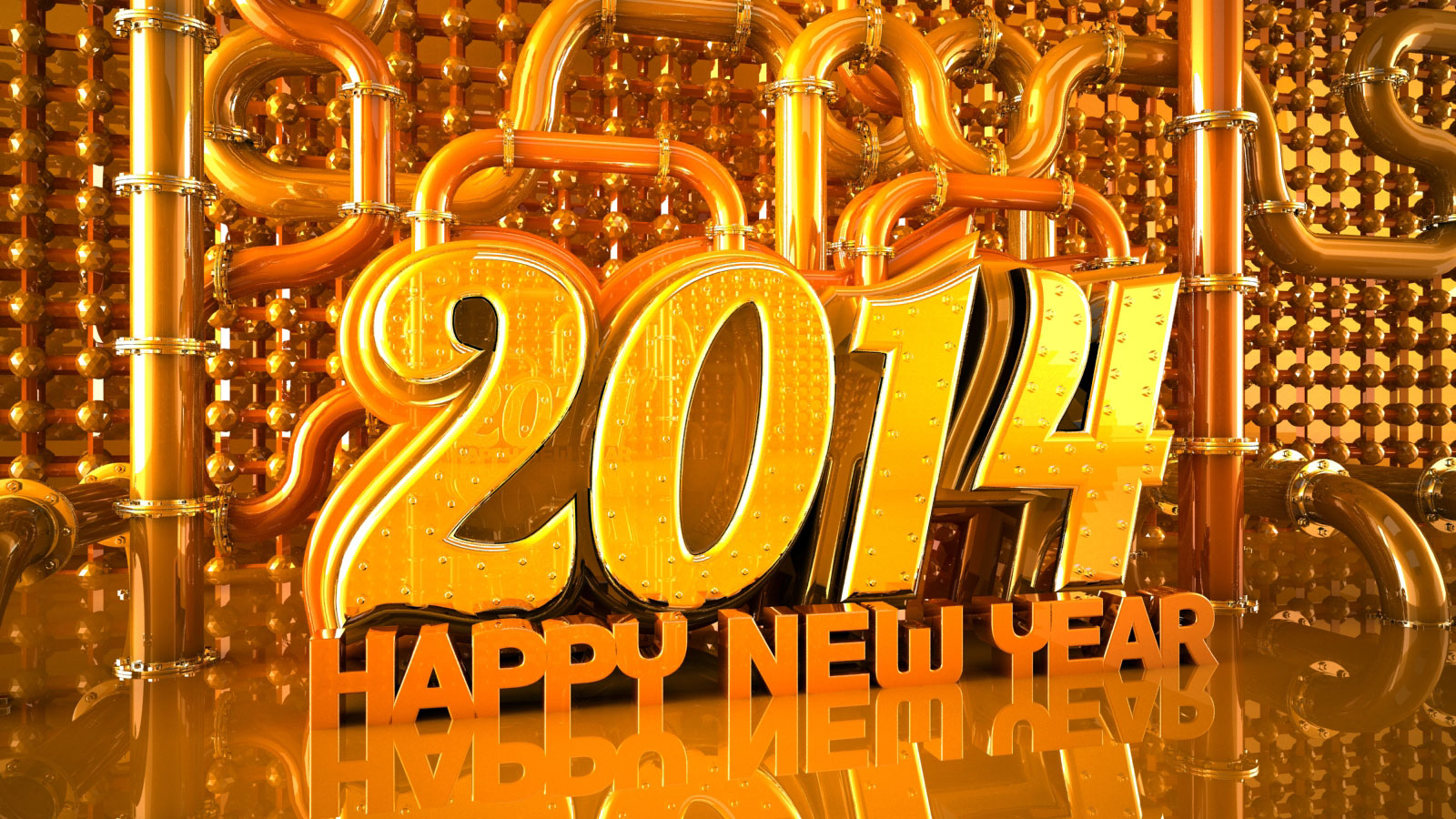 Happy New Year 2014 Wallpaper Images  Facebook Cover photos