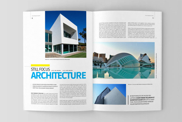 20 Beautiful Modern Brochure Design Ideas For Your 2014