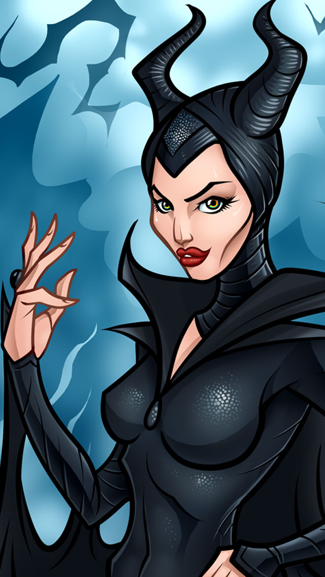 Disney World Wallpaper Iphone 6 Top 10 Beautiful Execution Of Maleficent Fan Art