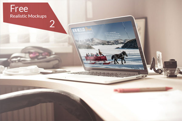 20 Awesome Free Premium Mockups  Design Templates of August 2014  Designbolts