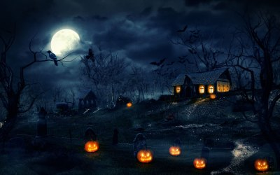 Free Scary Halloween Backgrounds & Wallpaper Collection ...