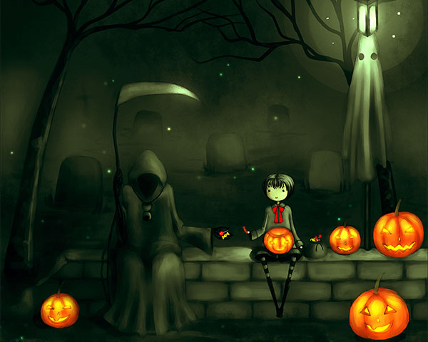 Cute Boo Desktop Wallpaper Free Scary Halloween Backgrounds Amp Wallpaper Collection