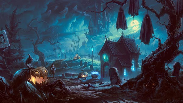 Fall Pumpkin Iphone Wallpaper Free Scary Halloween Backgrounds Amp Wallpaper Collection 2014