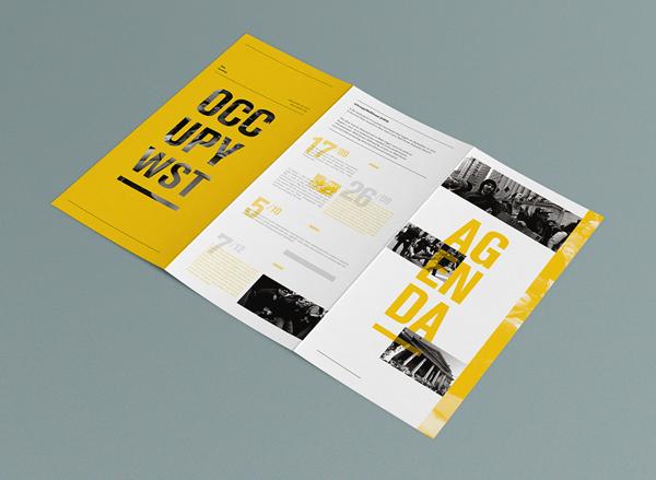 35 Beautiful Modern Brochure & Folder Design Ideas 2014
